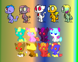 MLP POINT Adoptables 01 by SchattenspielKat