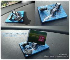 Custom Business Card Stand by 2twoproductions