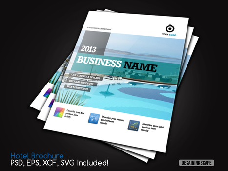 Brochure Concept Display Picture #1 by ademalsasa