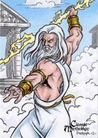 Zeus - Classic Mythology by tonyperna