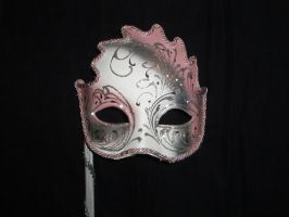 pink mask 2 by GreenEyezz-stock