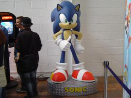 SOS 09 - Sonic Statue by Hedgey