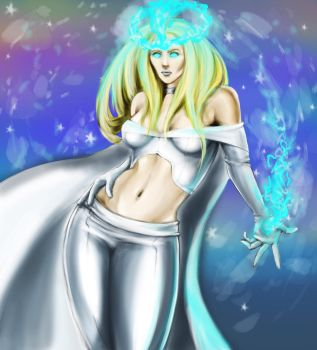 Emma Frost by SpiderMunkee9