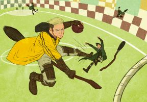 Hufflepuff Chaser by StarvingStudents