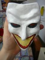 Painted Clay Joker 2 by tree27