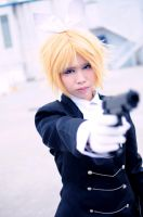 Secret Police, K.Rin: Freeze! Police! by cure-pain