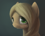applejack portrait by zlack3r