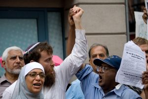 Mosque Rallies 3 by jeannewilson