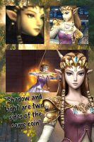 SSBB Princess Zelda Wallpaper by Emeraldfire131