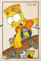 Bart Simpson by Pelotas
