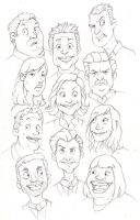 Parks and Recreation Cast by jericilag