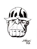 Thanos by Dave Johnson by IamSpeck