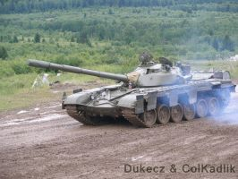 BAHNA 2011 T-72 2 by Dukecz