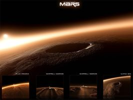 Horizons - Mars III by emailandthings