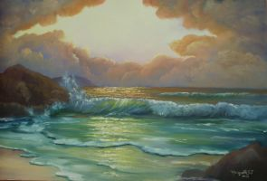 Sunset  - marine 5 - sold by Meggy-SJ