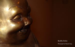 Buddha Smiles by mayankg