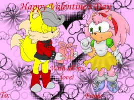Happy Valentine's Day 2012 Card MilesXRosy by Deathmegasega3
