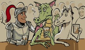 George&dragon by TheOldGoat1955