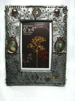 Steampunk Picture Frame by Devilish--Designs