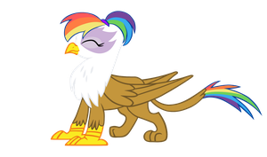 Rainbow Feather Vector by Wnaspp by Q99