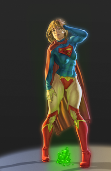 Supergirl Commission by Orr-Malus