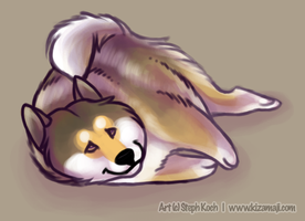 Oh hai dere. I jus wak up. :D by bawky