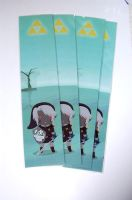 Dark Link bookmark by knil-maloon