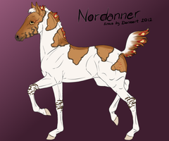 Nord foal 1662 by Sorrel-Feather