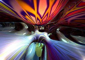 ENERGY ABSTRACT N 21 by DorianoArt