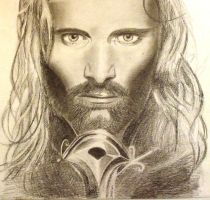 The Lord of the Rings-Aragorn by Marion-G