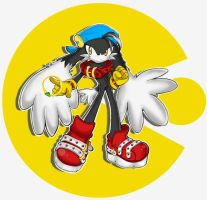 Klonoa in Sonic Style Ver.2 by Kiizuh