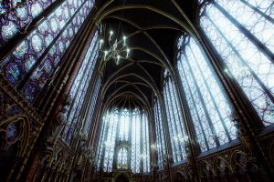 Sainte Chapelle by Malleni-Art