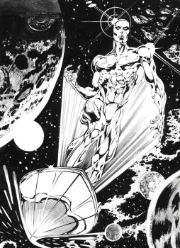 Silver Surfer by emalterre