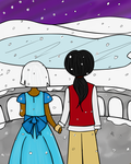 The First Snow by Lady-Ri