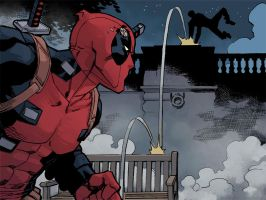 Deadpool Infinite-- TOMORROW! by ReillyBrown