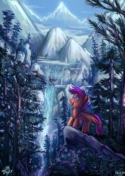 New Horizons Await by Jowybean