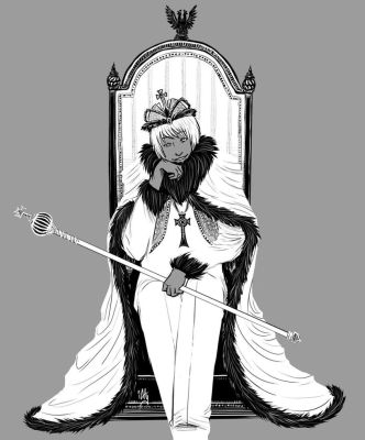 .: White King :. by iAlly