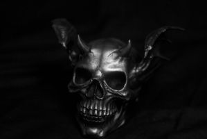 Untitled horned skull bat. by Thebluetooter
