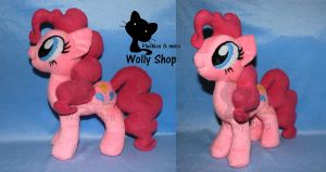 Pinkie Pie plush! for sale on ebay!!! by Vegeto-UchihaPortgas