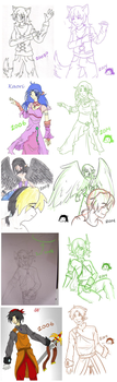 Then Vs Now Redraws by Overshadowed