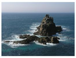 Lands End Cornwall by DoodleBe
