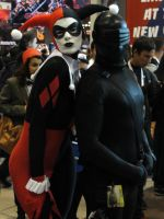 Harley Quinn and Snake Eyes - NYCC 2012 by SpideyVille