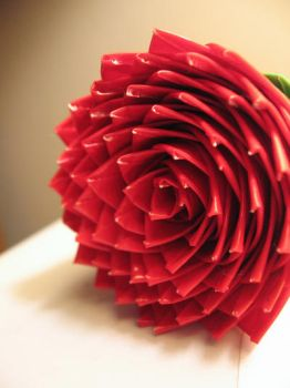 Duct Tape Flower by KataQueen
