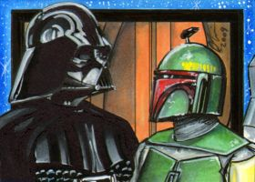 Darth Vader and Boba Fett PSC by AHochrein2010