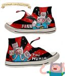 Customized Shoes: Finn the human by gicouy