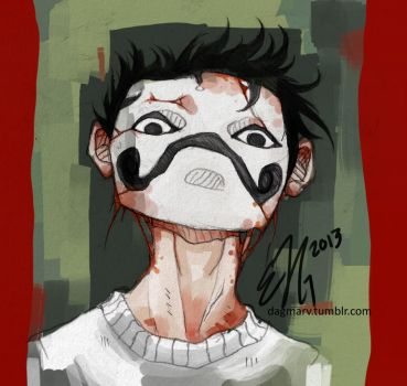 Zacharie Frog by DagmarVanadiel