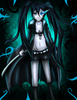 Black Rock Shooter by ForbiddenNightmares