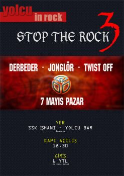 Stop The Rock 3 by bahadrix