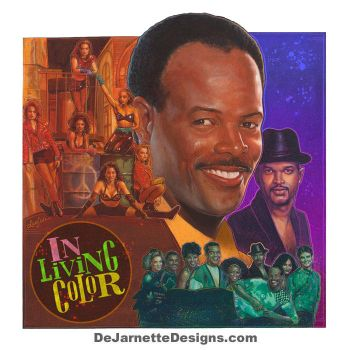 In Living Color - 24 X 24 Limited Edition Print by DeJarnette