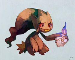 Banette and Litwick